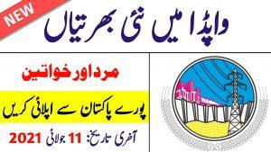 wapda jobs 2021   Ministry Of Water Resources Pakistan jobs 2021
