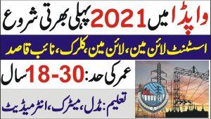 WAPDA jobs 2021   Latest WAPDA Jobs 2021_NTDC Jobs 2021