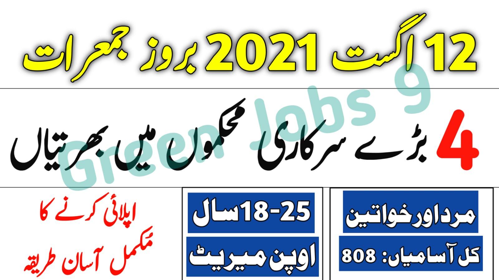 PPSC Jobs 2021-Ad No 21– Punjab Public Service Commission Jobs 2021